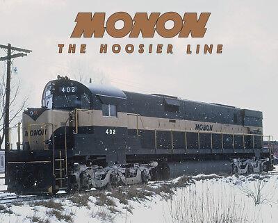 MONON Alco C628 Train Sturdy Metal Sign