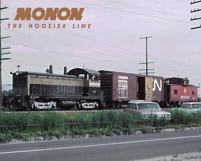 MONON NW2 Train Sturdy Metal Sign