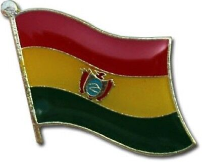 Wholesale Pack of 50 Bolivia Country Flag Bike Hat Cap lapel Pin