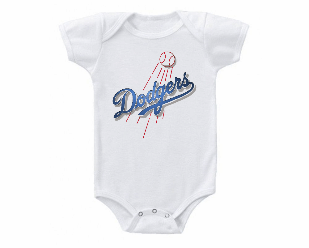 Los Angeles Dodgers Onesie Bodysuit Shirt Shower Gift