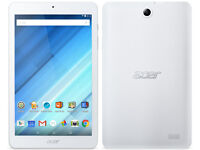 "Acer Iconia One 8"" tablet read description."