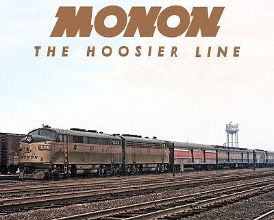 MONON The Thoroughbred Train Sturdy Metal Sign