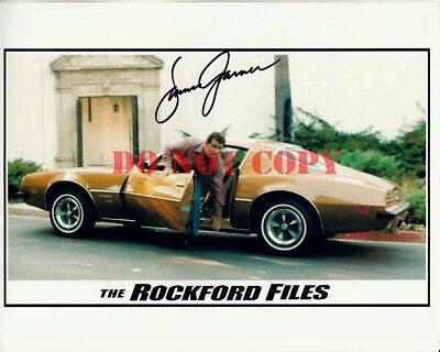 James Garner Signed 8X10 The Rockford Files Autographed Photo Reprint