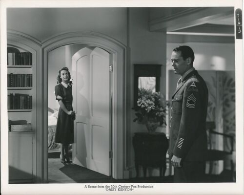 JOAN CRAWFORD HENRY FONDA Original Vintage 1947 DAISY KENYON Fox Studio Photo