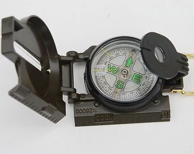 VIETNAM WAR US ARMY M-1950 LENSATIC COMPASS -32851 on Rummage