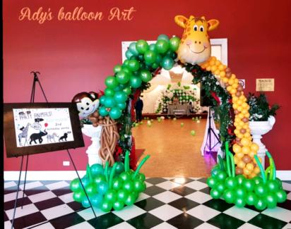 Creative wedding decorations other wedding parties gumtree balloon decorations junglespirit Gallery