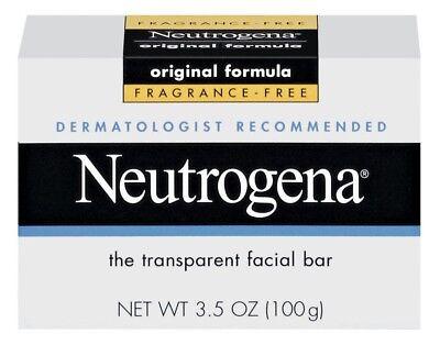 Neutrogena The Transparent Facial Bar Original Formula, Frag