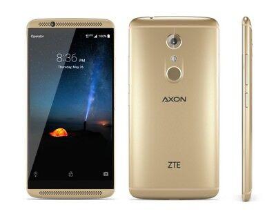 Zte Axon 7 Mini 32Gb   Gold  Unlocked  Smartphone 9 10 Burn Image Dent On Back