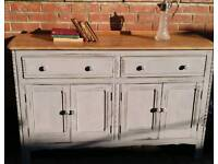 Ercol sideboard beautifully restored wood top upcycled base