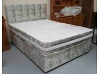Brandnew Velvet Crush Beds can deliver 07808222995