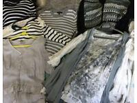 Selection of ladies tops and jumpers