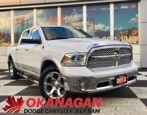 2013 Ram 1500 LARAMIE 4X4 | Navigation | Sunroof | Remote Start