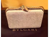 Clutch Bulgari Serpenti collection Cocktail Bvlgari Clutch Bag Brand New - £1765