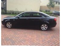 AUDI A4 SE petrol, 4 door saloon with extremely low mileage for age