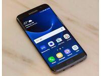 Samsung Galaxy S7 Edge Black Onyx 32GB UNLOCKED Like New