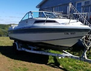 21 foot boat trade for small boat and outboard