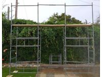 Tower scaffold [s] PLATFORM staging SCAFFOLDING 3.65 - 5.56m COULD DELIVER