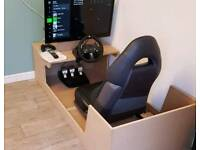 Xbox 1, Logitech steering wheel and pedals
