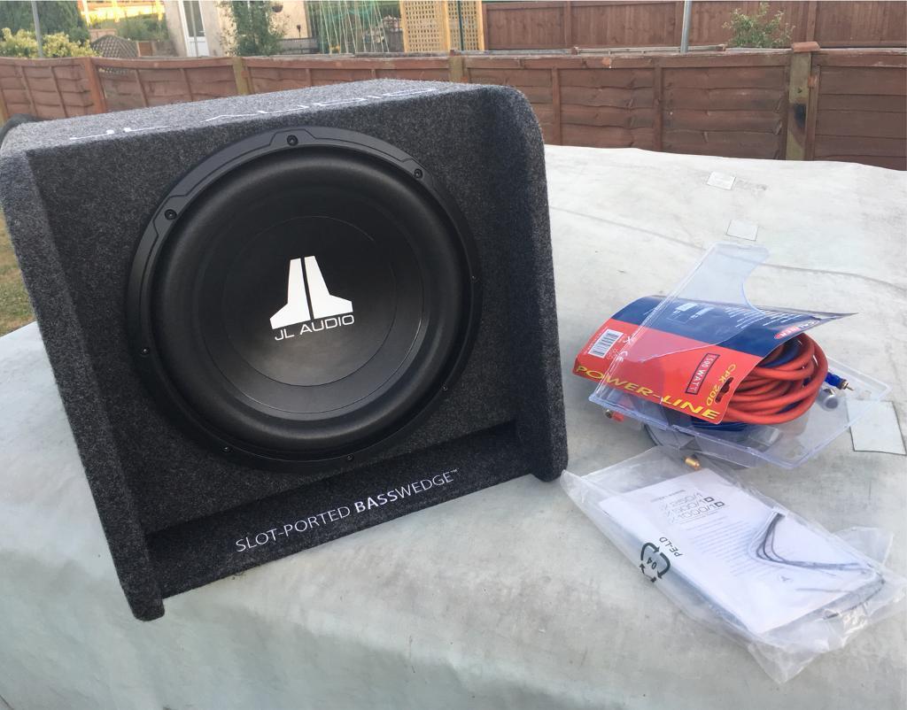Jl Audio Wiring Kit Library W6 12inch Sub Amp