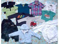 Boys 9-12 months, 17 items, Next Baker Baby M&S Mothercare Debenhams F&F boys