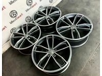 """BRAND NEW 19"""" 20"""" AUDI S5 STYLE ALLOY WHEELS - ALSO AVAILABLE WITH TYRES"""