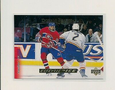 1995-96 Upper Deck ELECTRIC ICE GOLD Parallel #411 Donald Brashear