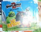 Tattoo angry birds
