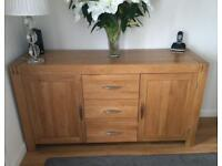 Absolutely Gorgeous - Furniture Land - Large Oak Sideboard - Immaculate !