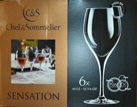 6 Chef & Sommelier Sensation Exalt 410ml wine glasses