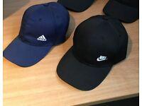 2 Brand New Caps Nike Adidas