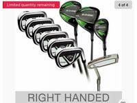Callaway Edge 10 Piece Golf Set (Brand New in Box)