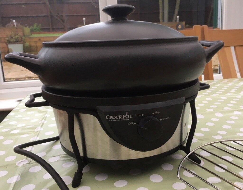 Crock-Pot Slow Cooker - 4.7 Litre
