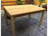 Oak Dining Table - 4 Seater - Brand New