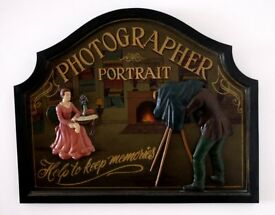 Wooden Portrait Photographer Picture
