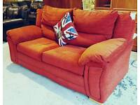 Red Good quality sofa bed ( mattress hardly used) all metal pull out action can deliver 07808222995