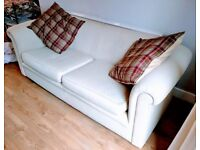Sofa Couch with 2 Cushions