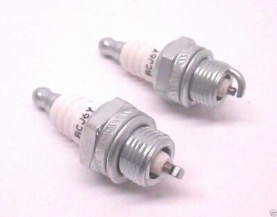 2 Pack Genuine Champion RCJ6Y Spark Plug Copper Plus 852