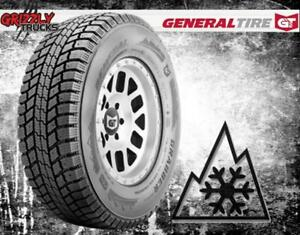 HEAVY DUTY STUDDABLE WINTER TIRES !!! GENERAL GRABBER ARCTIC LT - 10 PLY !!!
