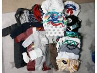 Large baby boy bundle newborn/first size