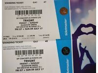 2x TRNSMT tickets (FRI + SUN)