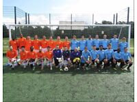 Join football team, make new friends, lose weight, get fit, play football, find football in london
