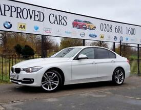 BMW 3 SERIES 1.6 316I SPORT 4d AUTO 135 BHP Apply for finance O (white) 2013