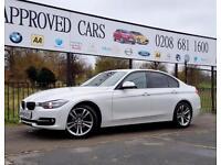 BMW 3 SERIES 1.6 316I SPORT 4d AUTO 135 BHP Apply for finance O (white) 2013