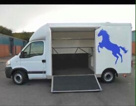 FROM ONLY £200 pm.Brand new horsebox conversions from £4500 Or we can supply vehicle on request.