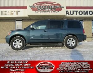 2006 Nissan Armada LE 4X4, 8 PASSENGER, LEATHER, SUNROOF, NAV, D