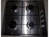 Beko Gas Hob QHG64X/FS20195, 6 months warranty, Delivery available within Devon/Cornwall