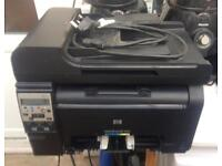 Hp laserjet 100 color mfp m175nw colour laser printer