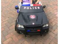 Two seater Police car