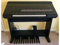Yamaha electric electone organ, HS-4 Black