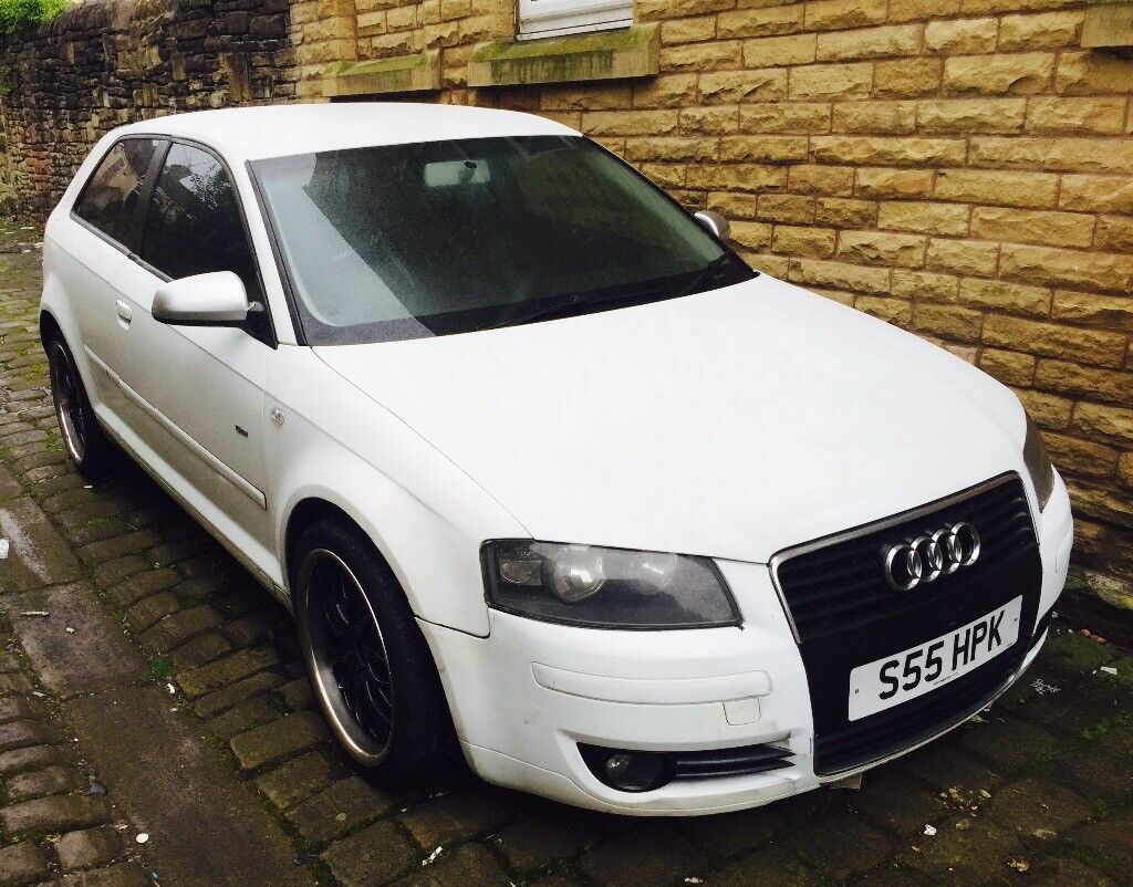 Audi A3 2.0 tdi Engine replaced 12 month Mot full leather alloys warranty px cheapest on net